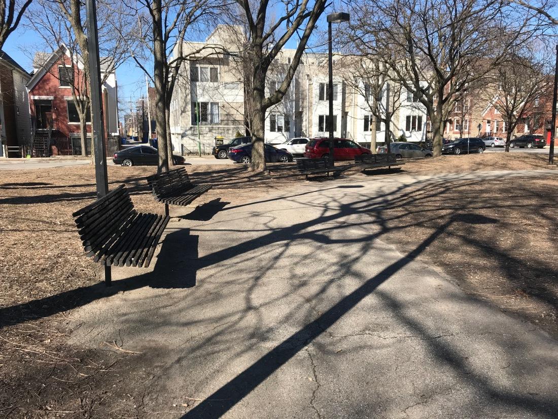 Benches at Senior Citizen Memorial Park