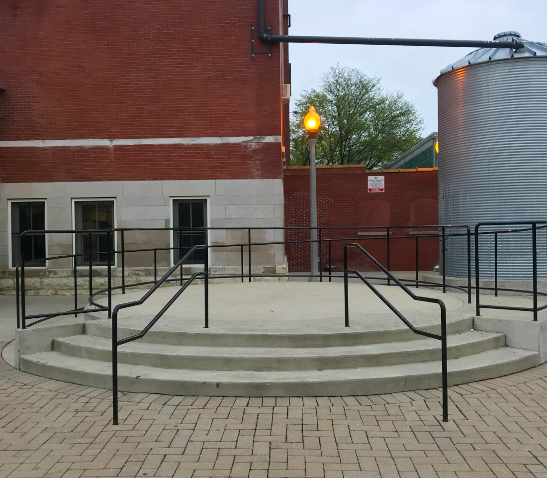 Photo of the three stair at Geothe school