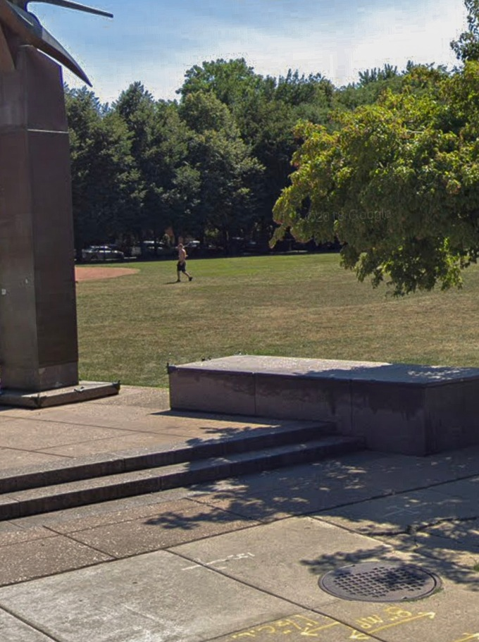 ledge at Jonquil Park